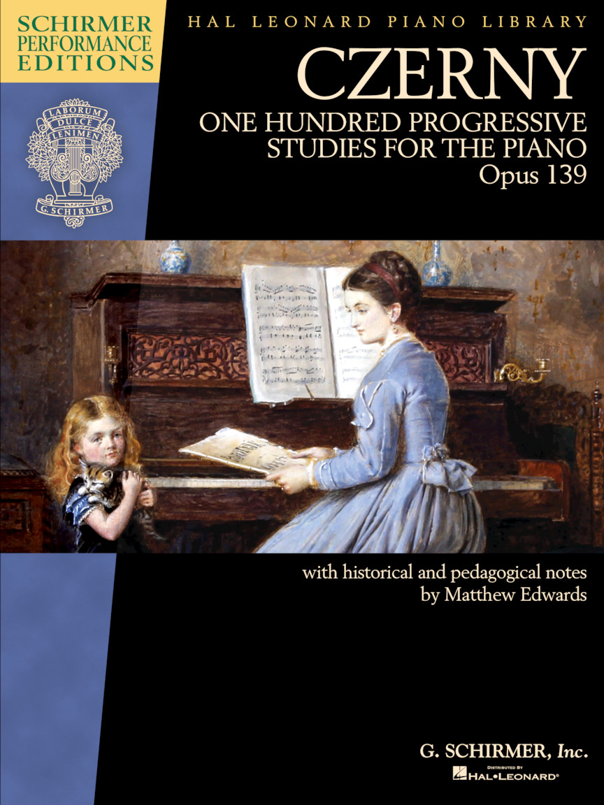 Product Cover for Czerny – One Hundred Progressive Studies for the Piano, Op. 139