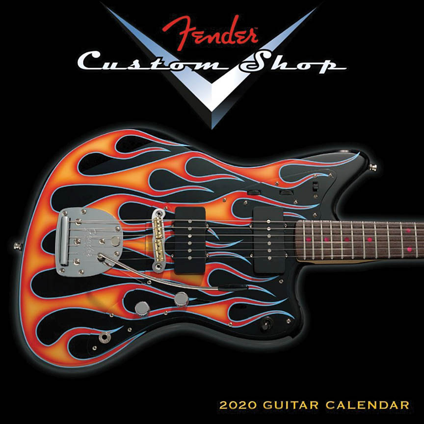 Product Cover for 2020 Fender Custom Shop Mini Wall Calendar