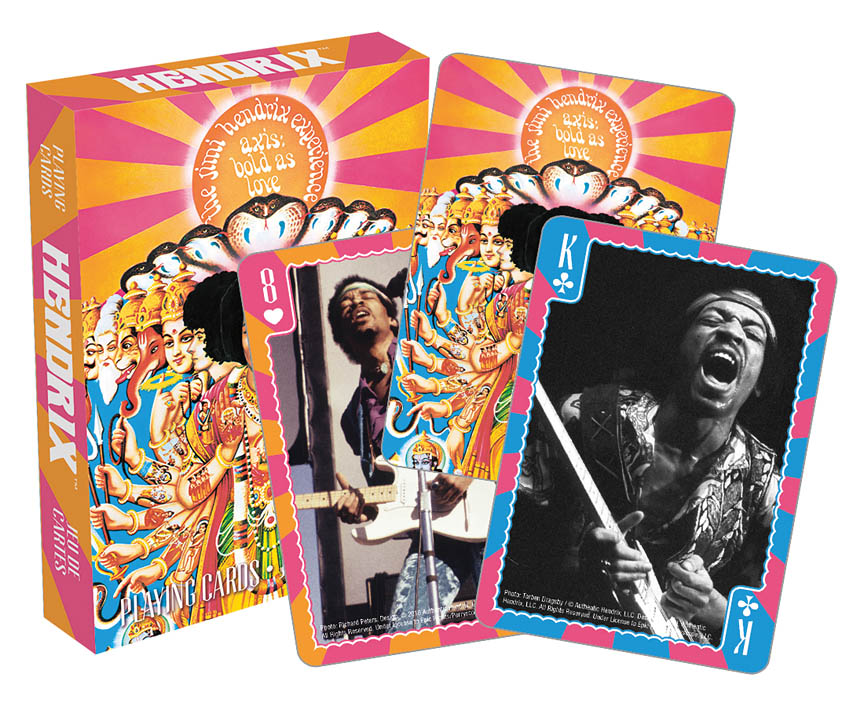 Product Cover for Hendrix – Axis: Bold As Love Playing Cards