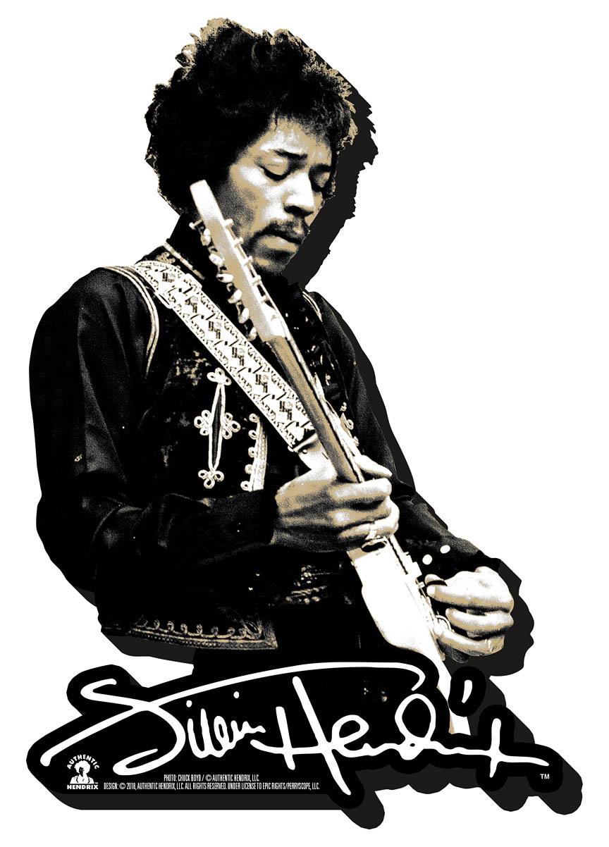 Hendrix Chunky Magnet – Black and White Signature