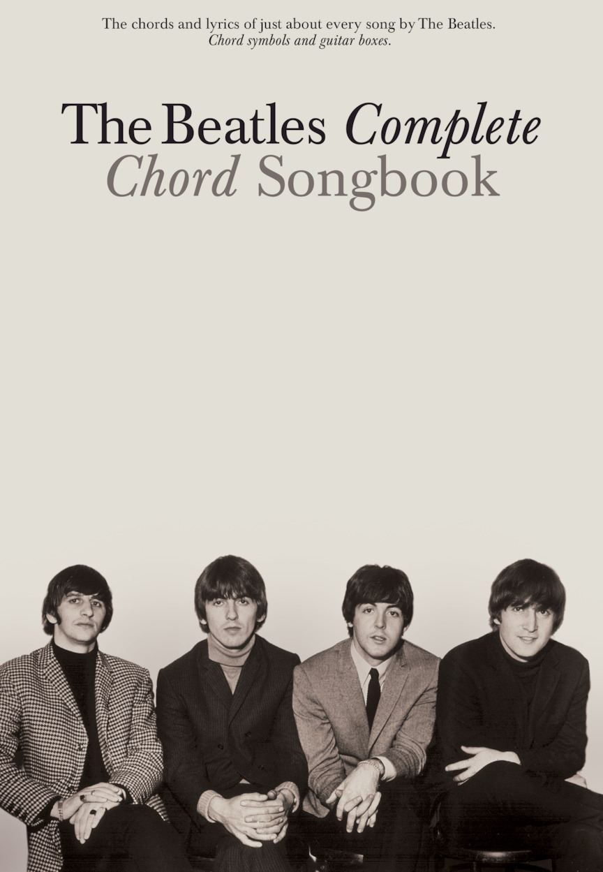Product Cover for The Beatles Complete Chord Songbook