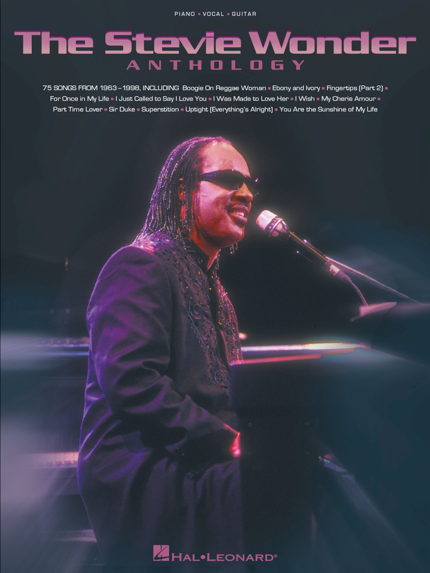 Product Cover for The Stevie Wonder Anthology