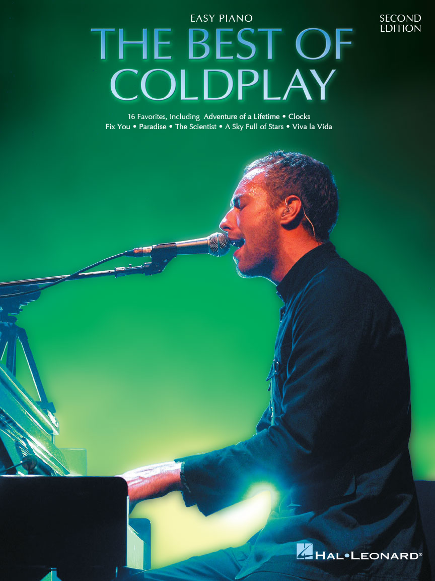 Product Cover for The Best of Coldplay for Easy Piano – Second Edition