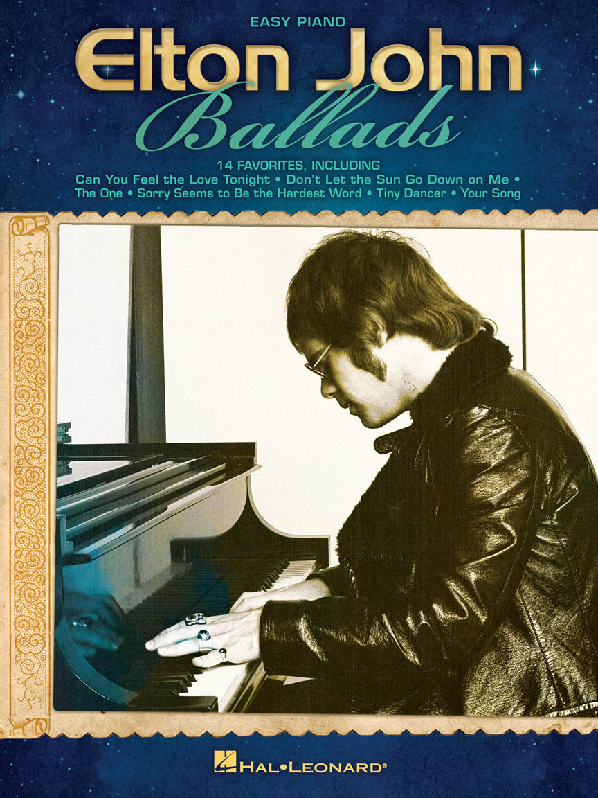 Product Cover for Elton John Ballads