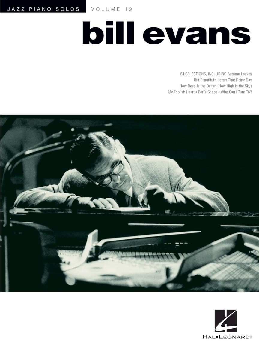 Bill Evans - Jazz Piano Solos Series Volume 19 | Hal Leonard