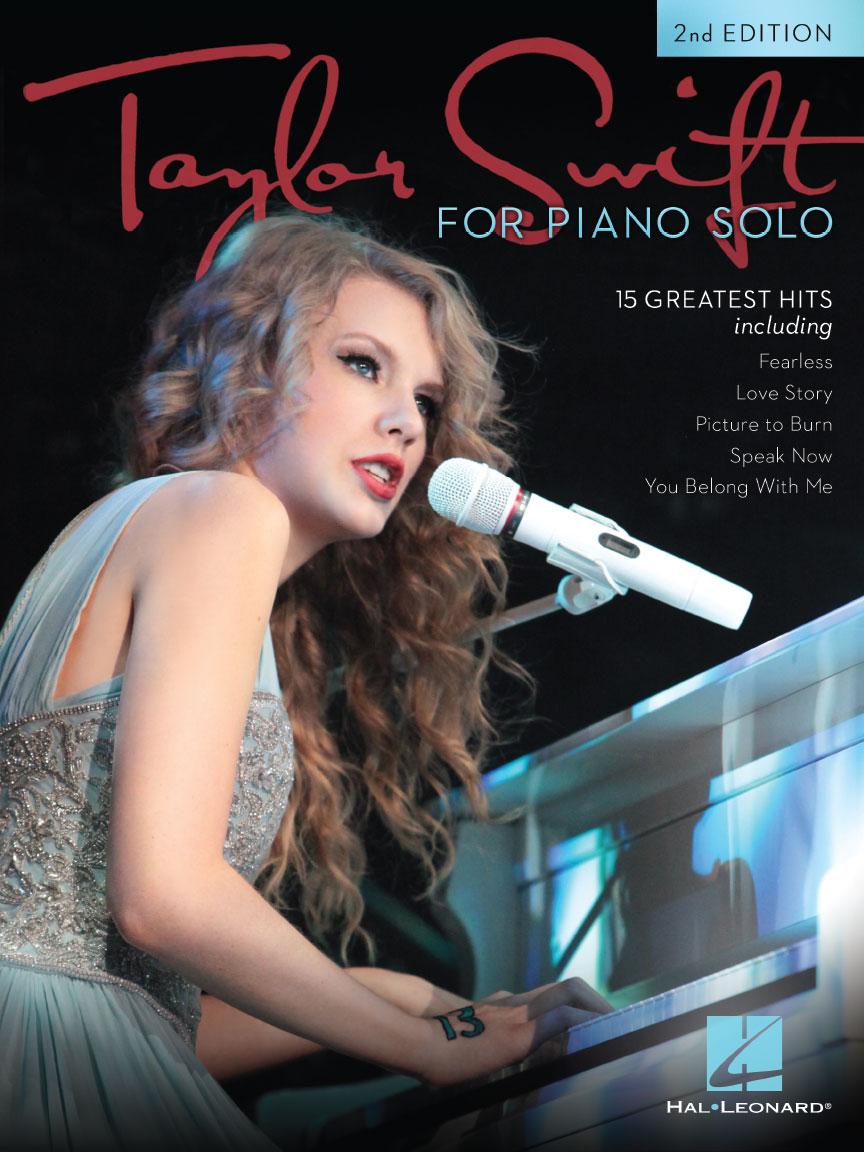 Product Cover for Taylor Swift for Piano Solo – 2nd Edition