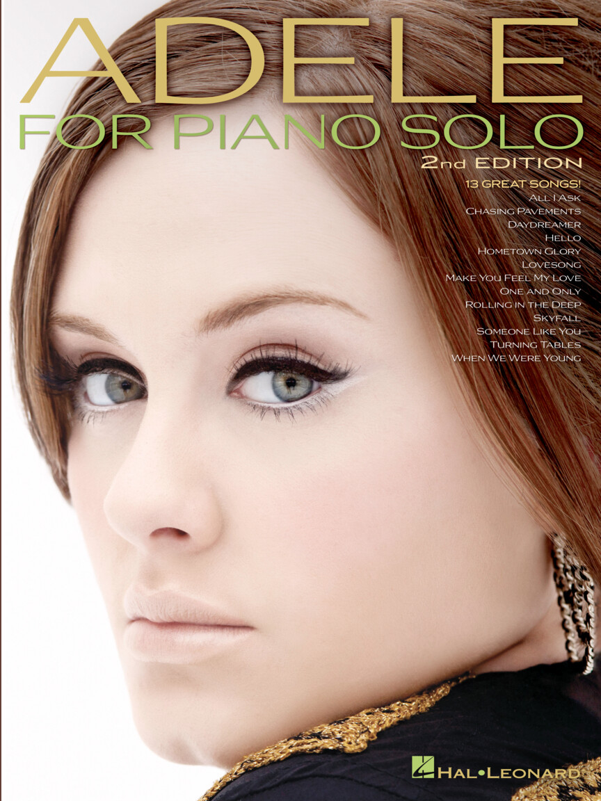 Product Cover for Adele for Piano Solo – 2nd Edition