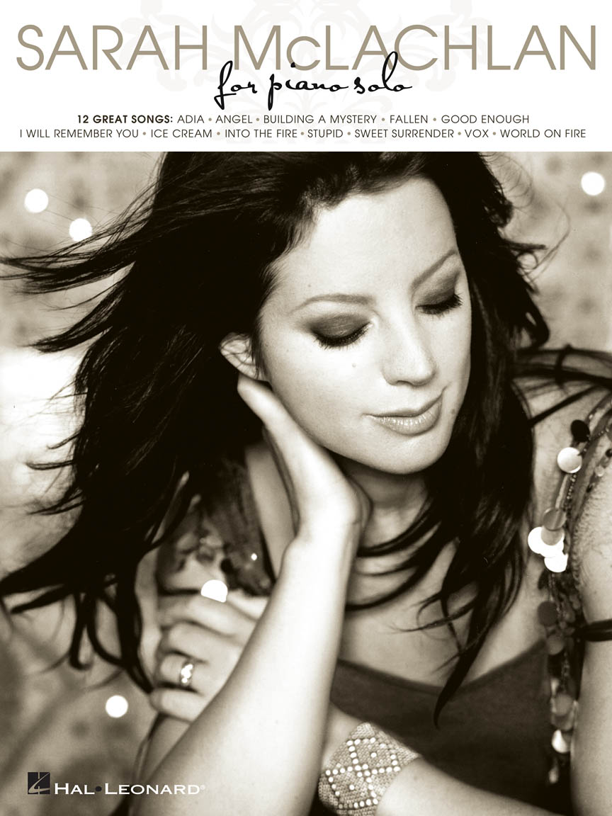 Product Cover for Sarah McLachlan for Piano Solo