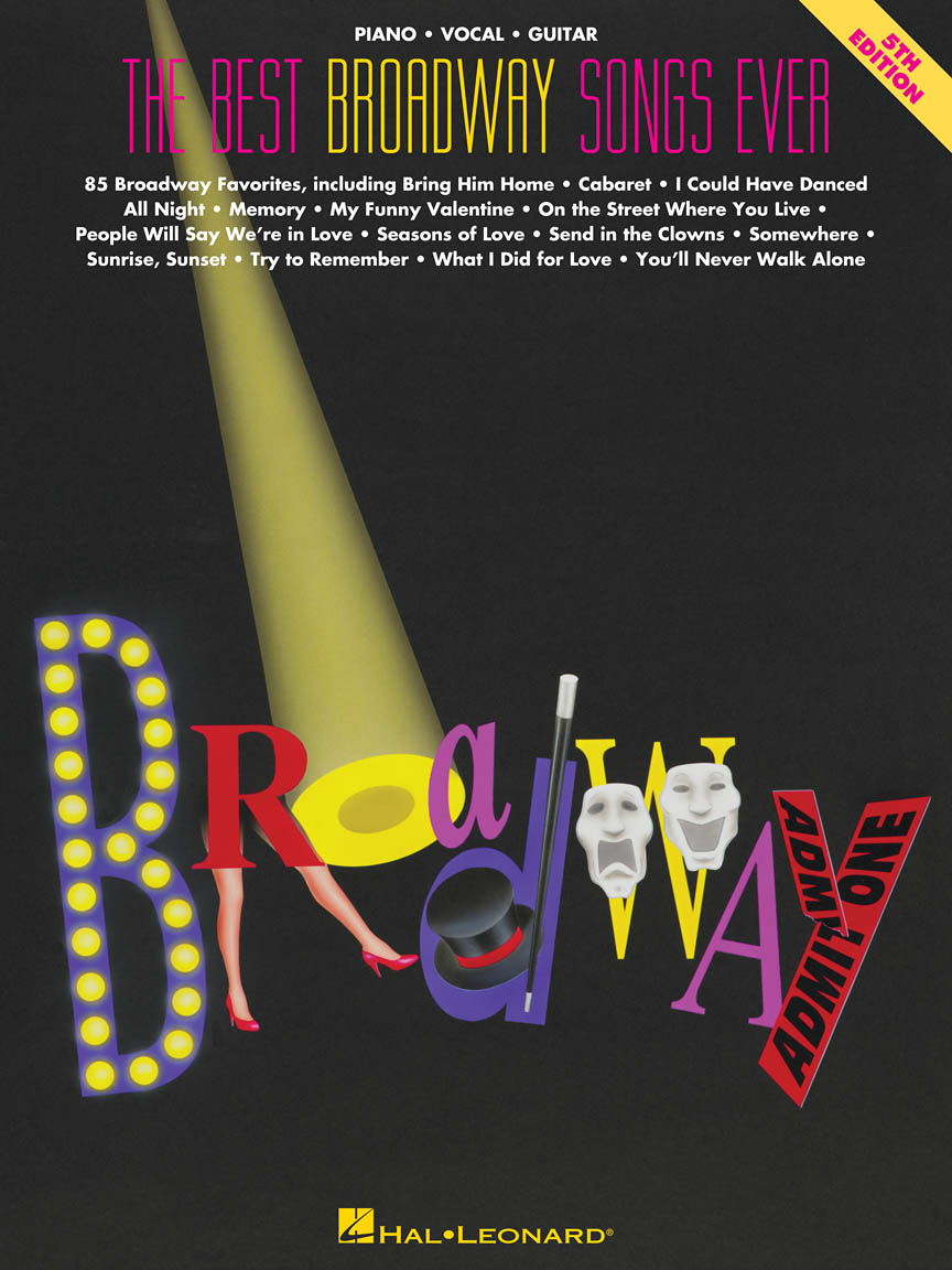 Product Cover for The Best Broadway Songs Ever – 5th Edition