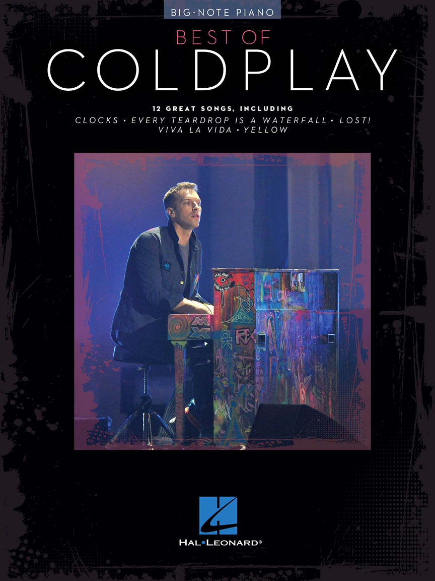 Product Cover for Best of Coldplay for Big-Note Piano