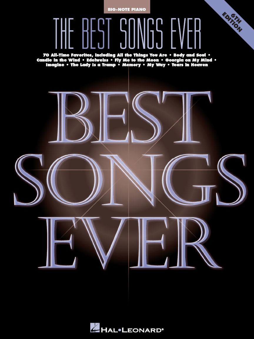 Product Cover for The Best Songs Ever – 6th Edition
