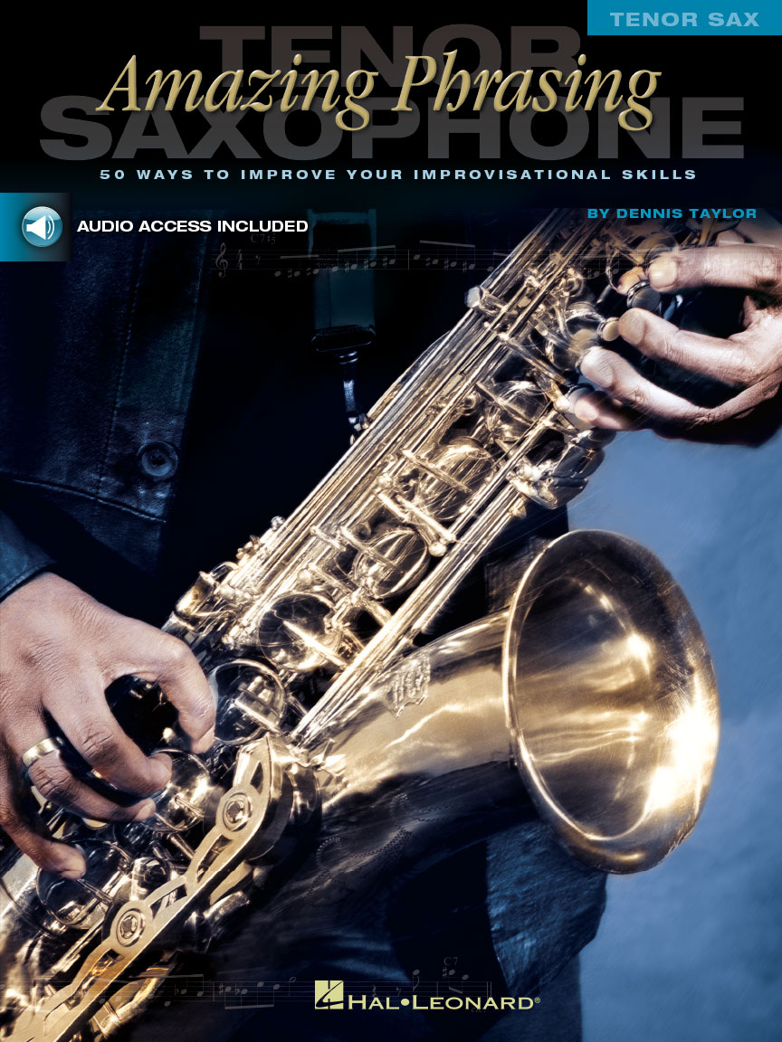 Product Cover for Amazing Phrasing – Tenor Saxophone