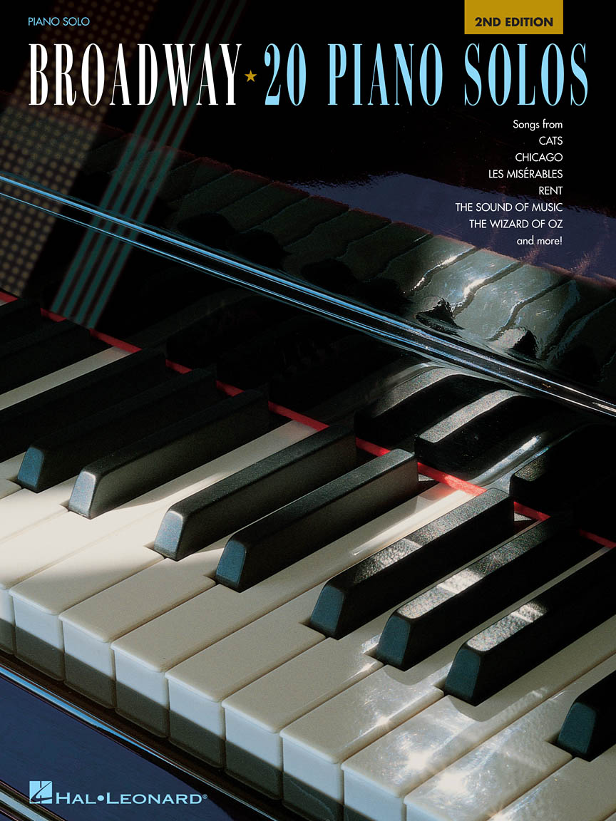 Product Cover for Broadway: 20 Piano Solos – 2nd Edition