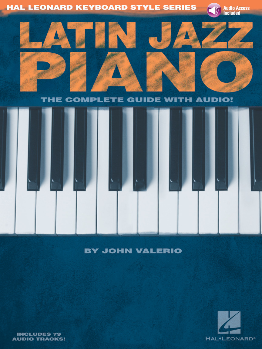 Product Cover for Latin Jazz Piano – The Complete Guide with Online Audio!