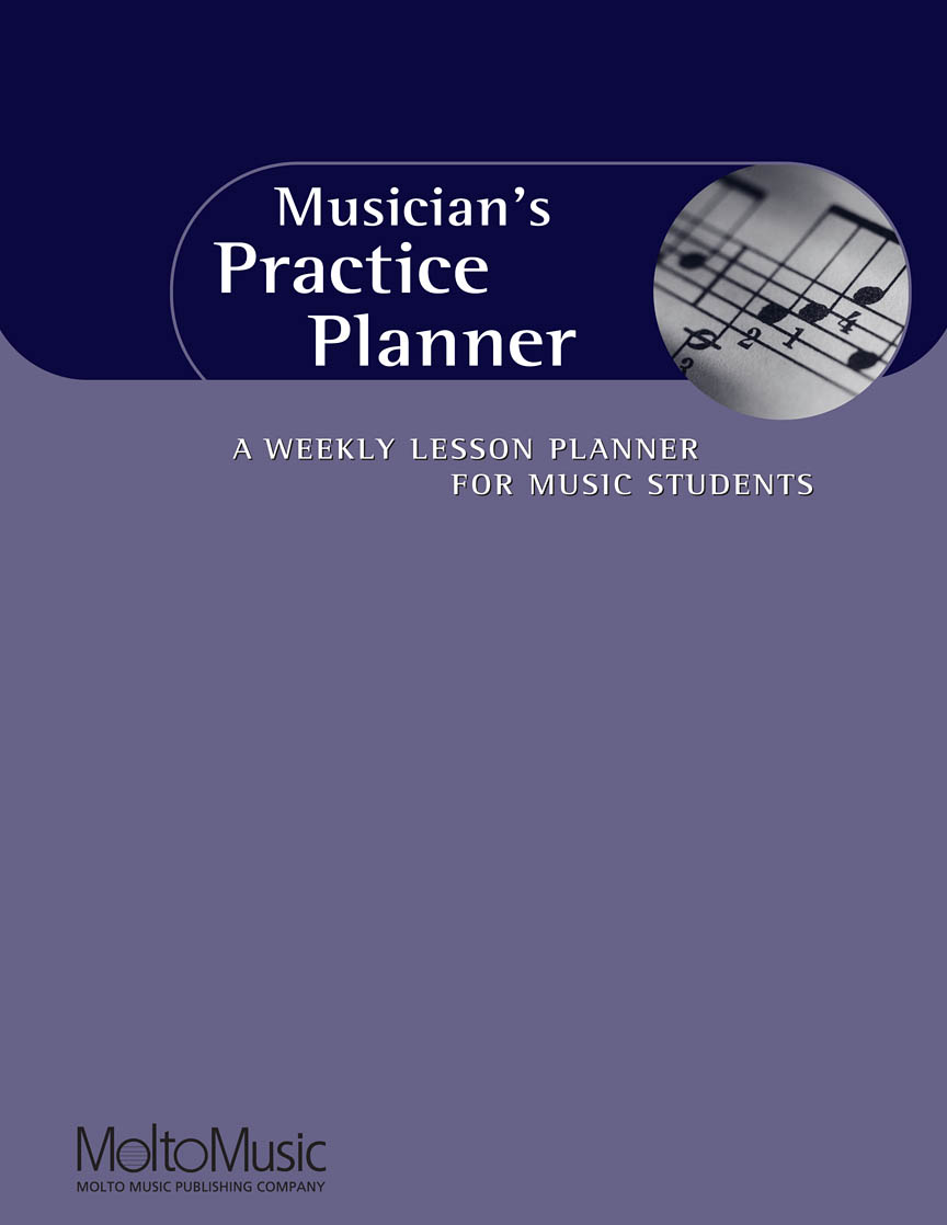 Product Cover for Musician's Practice Planner