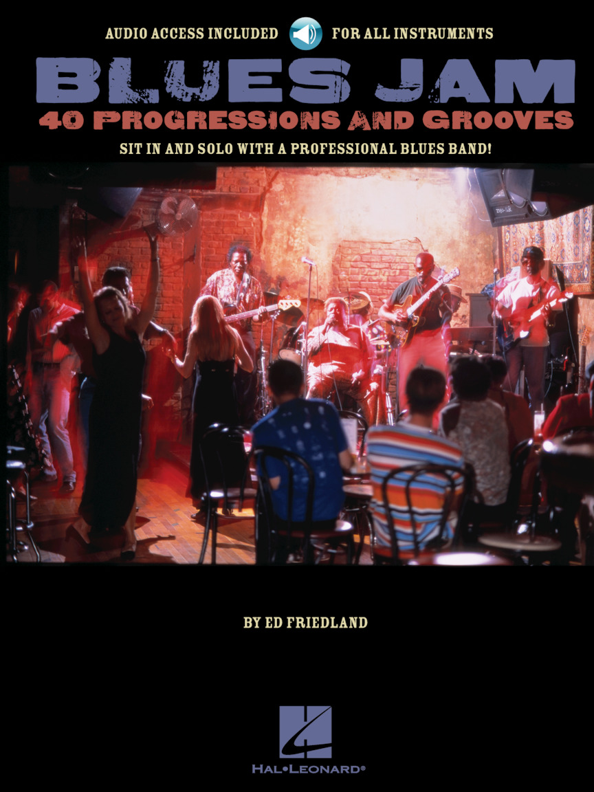 Product Cover for Blues Jam – 40 Progressions and Grooves