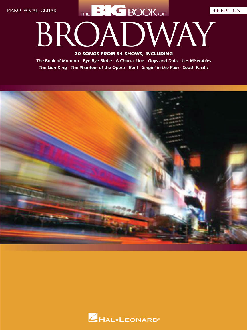 Product Cover for The Big Book of Broadway – 4th Edition