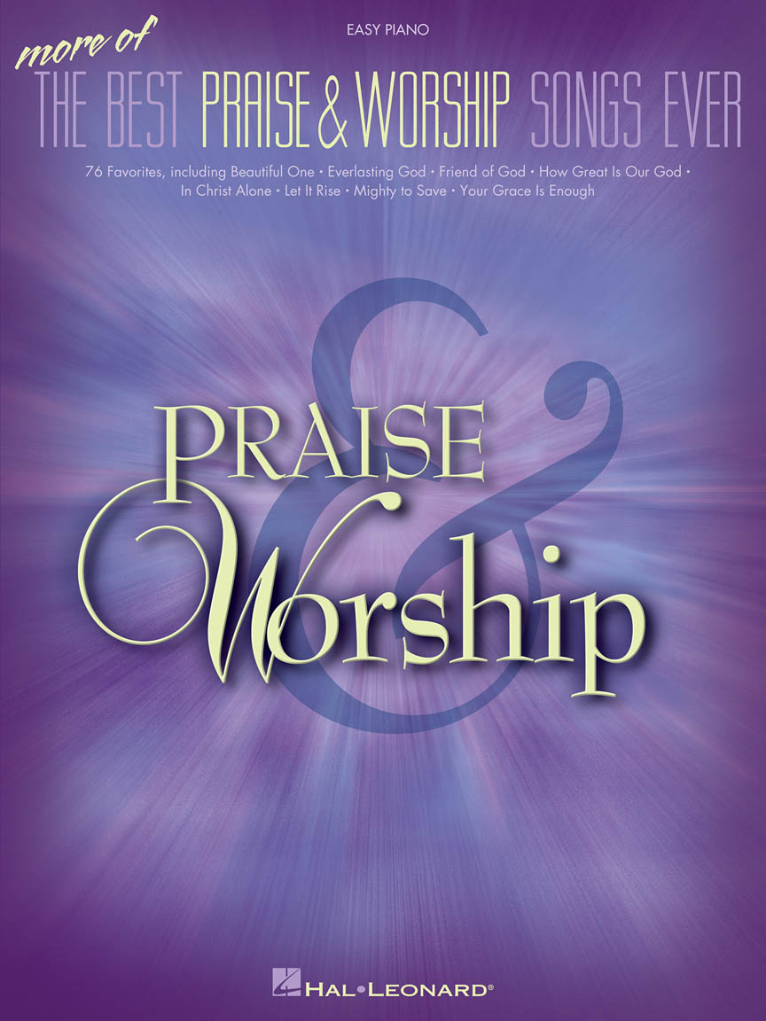 Product Cover for More of the Best Praise & Worship Songs Ever