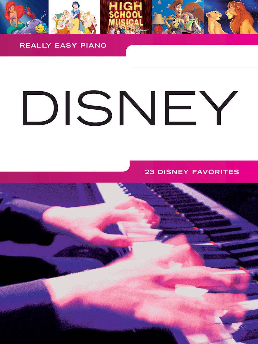 Product Cover for Really Easy Piano – Disney
