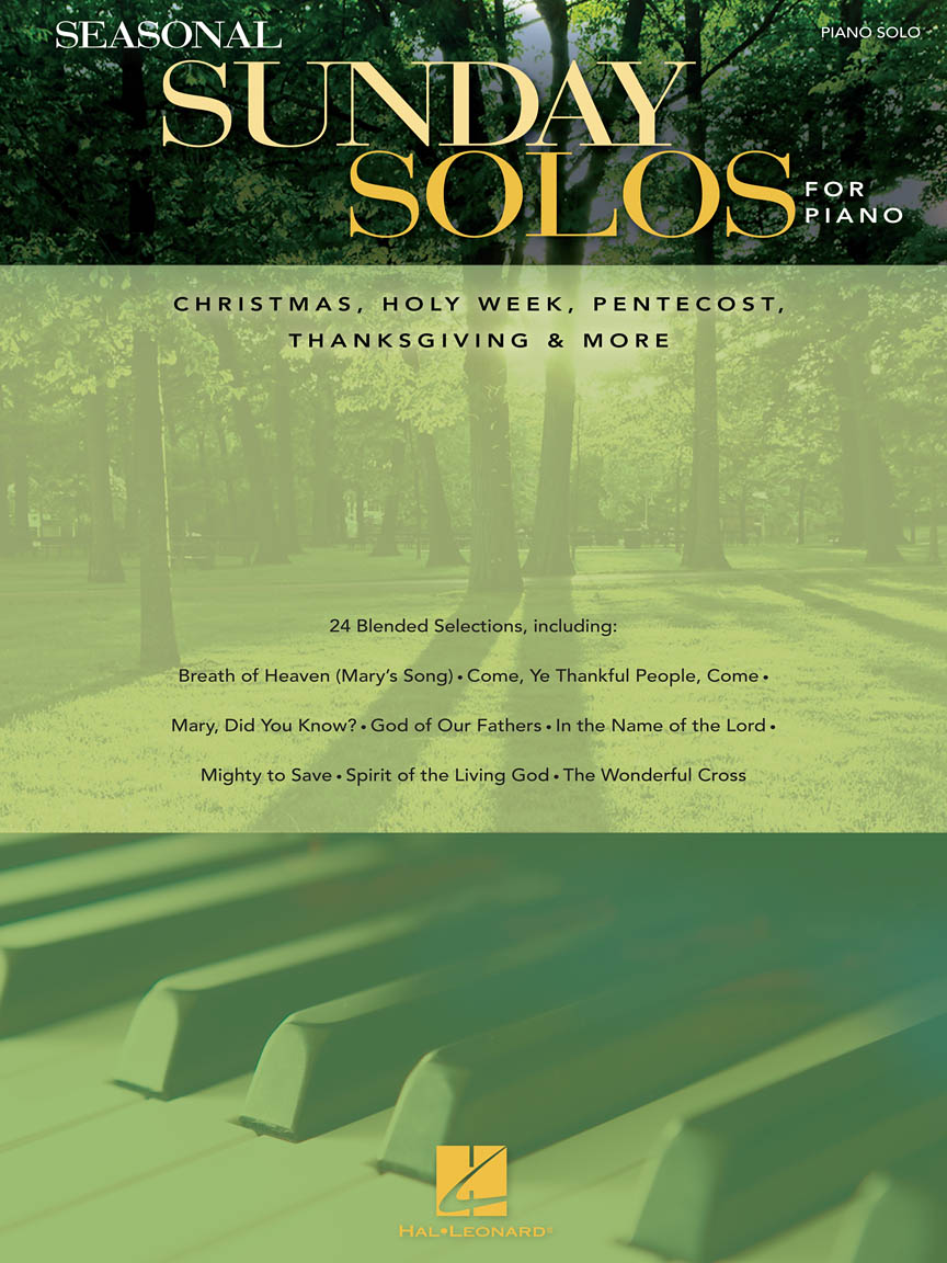 Product Cover for Seasonal Sunday Solos for Piano