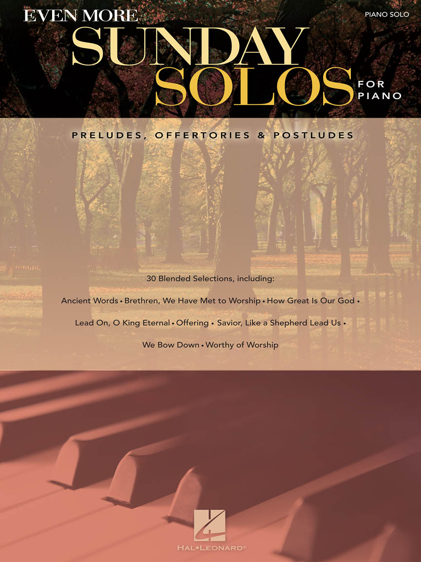 Product Cover for Even More Sunday Solos for Piano