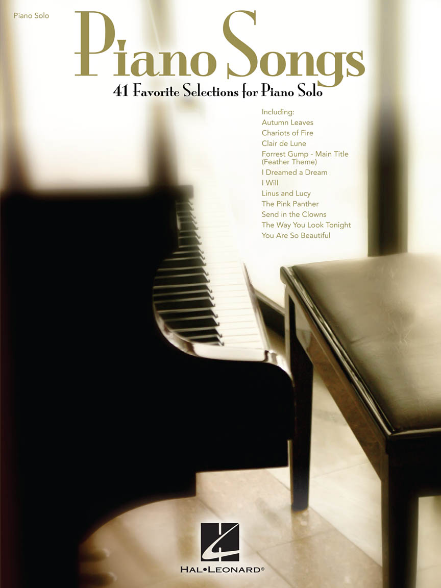 Product Cover for Piano Songs