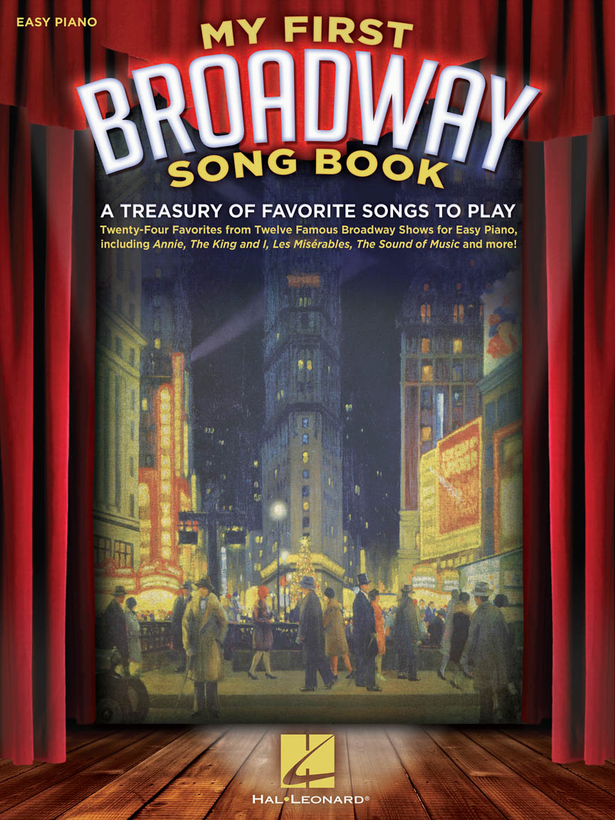 Product Cover for My First Broadway Song Book