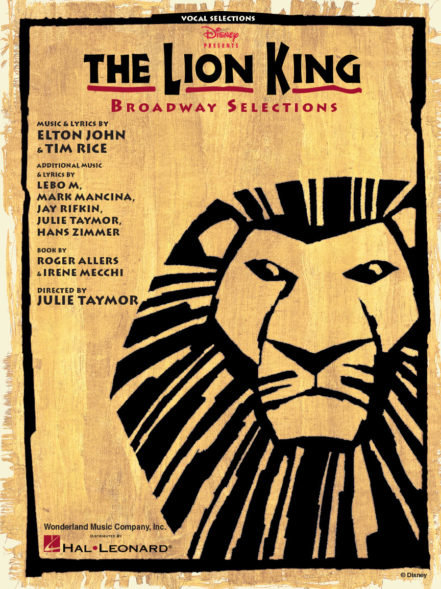 Product Cover for The Lion King – Broadway Selections