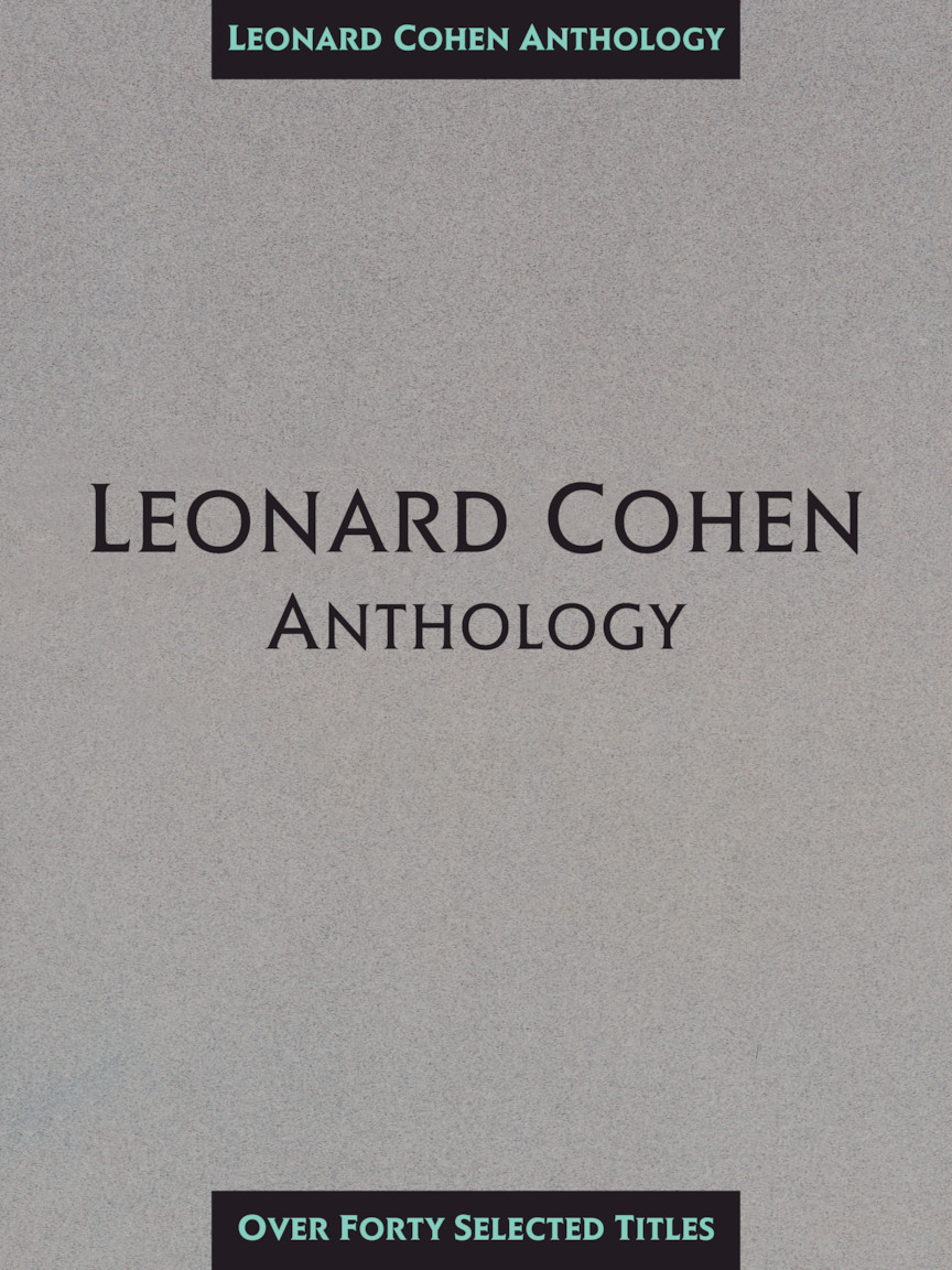 Product Cover for Leonard Cohen Anthology