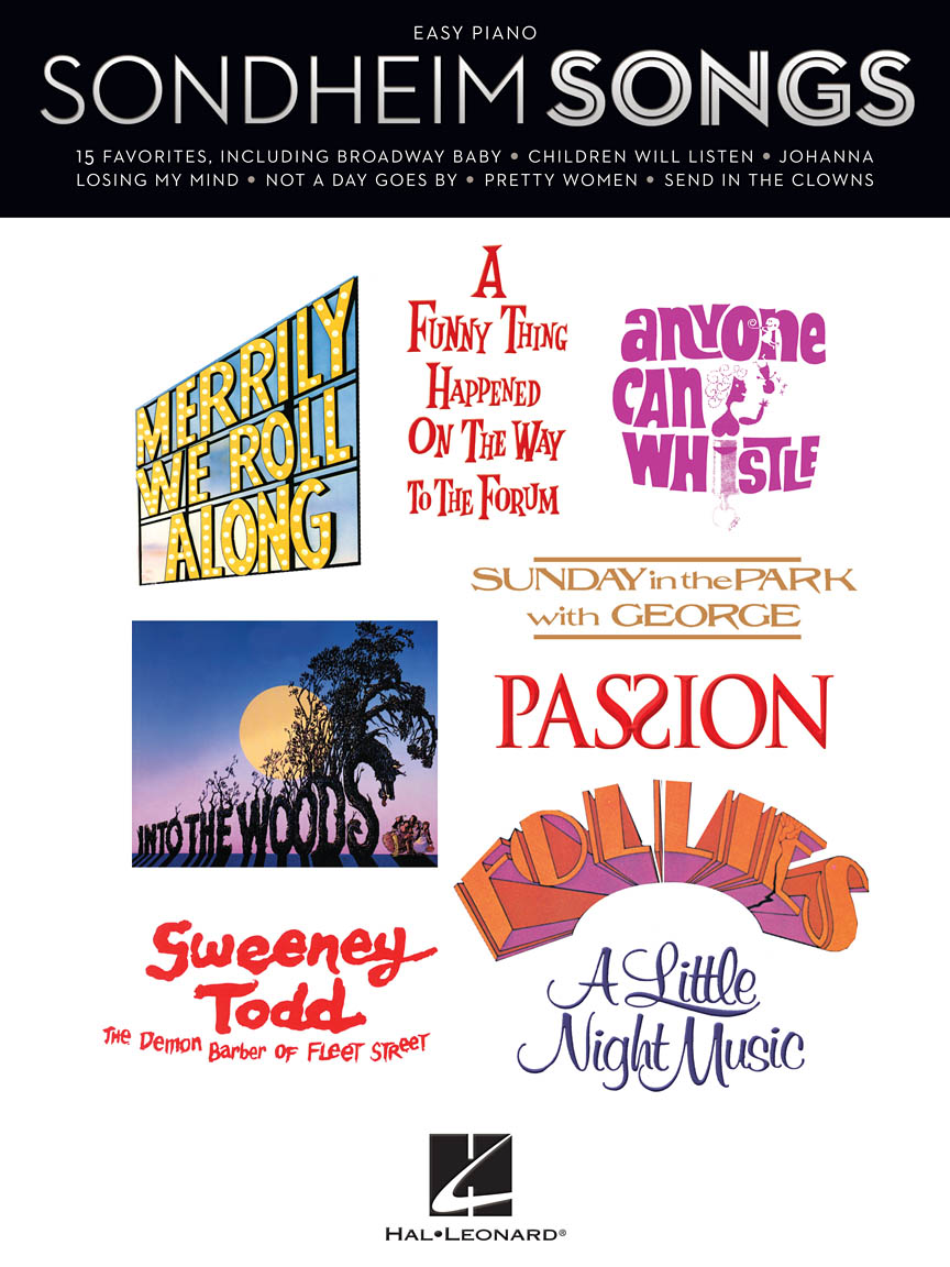 Product Cover for Sondheim Songs for Easy Piano