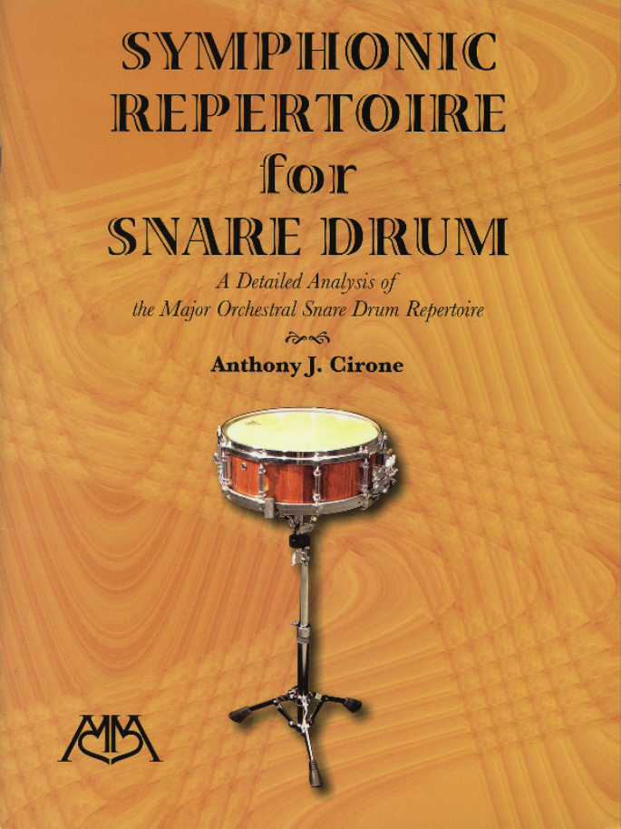 Product Cover for Symphonic Repertoire for Snare Drum