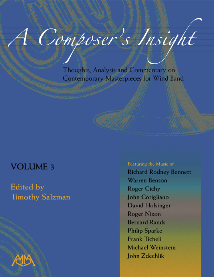 A Composer's Insight, Volume 3