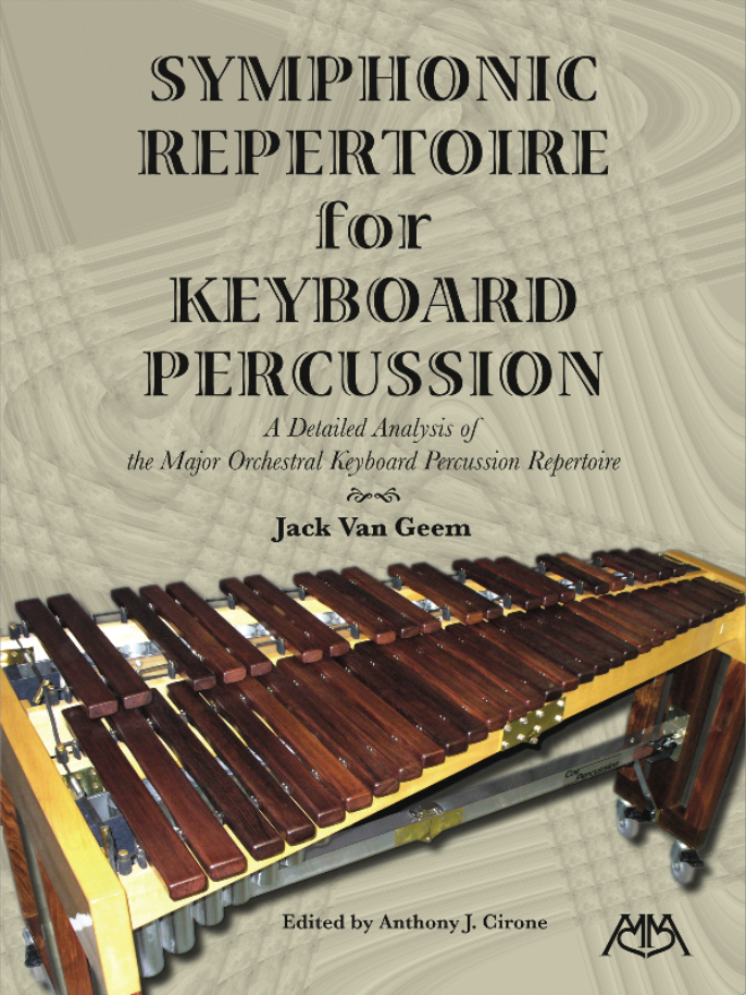 Product Cover for Symphonic Repertoire for Keyboard Percussion