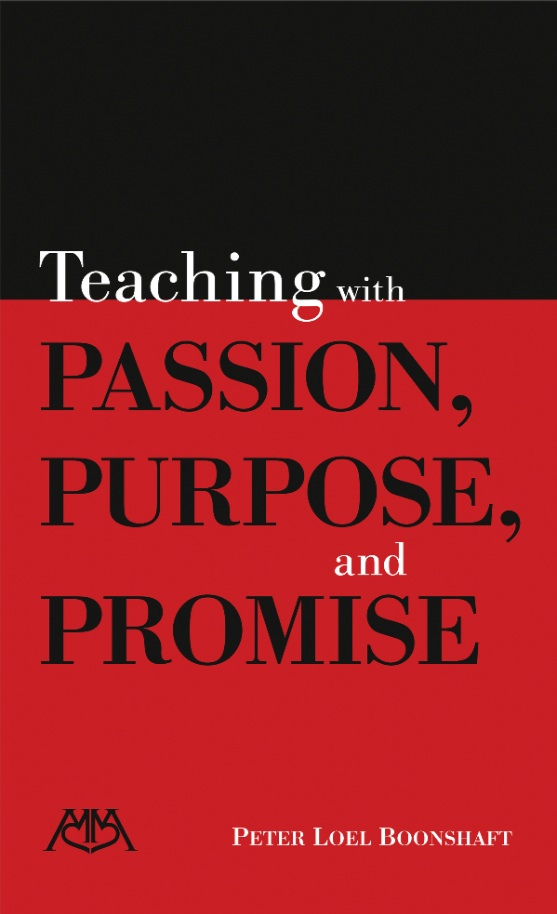 Product Cover for Teaching with Passion, Purpose and Promise