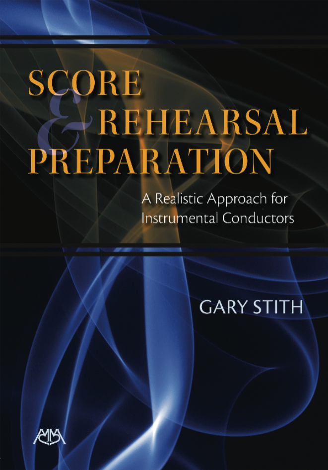 Product Cover for Score and Rehearsal Preparation