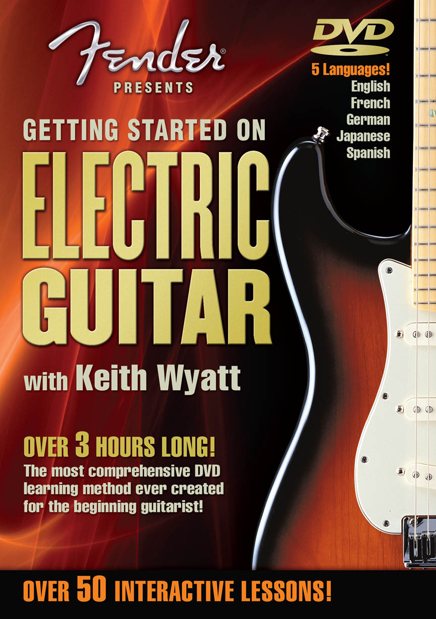 Product Cover for Fender® Presents Getting Started on Electric Guitar
