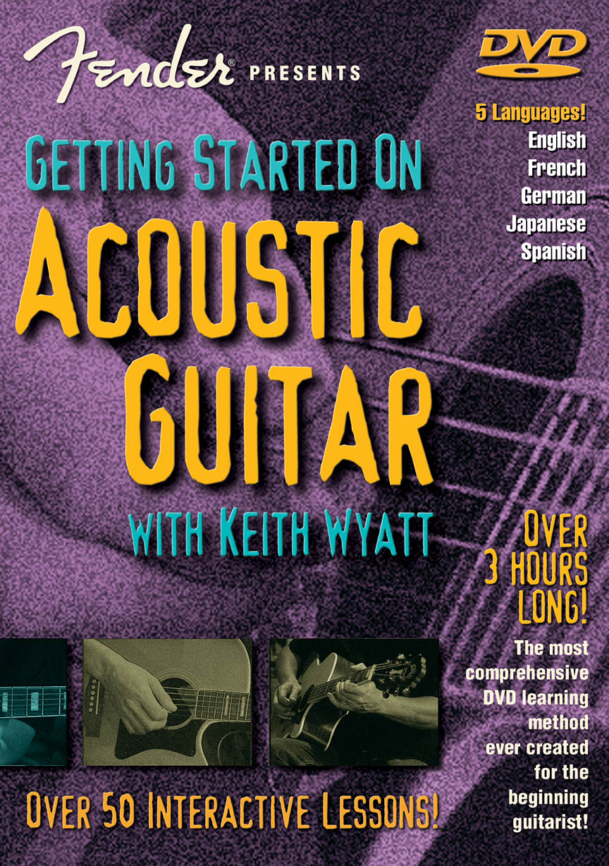 Fender® Presents Getting Started on Acoustic Guitar