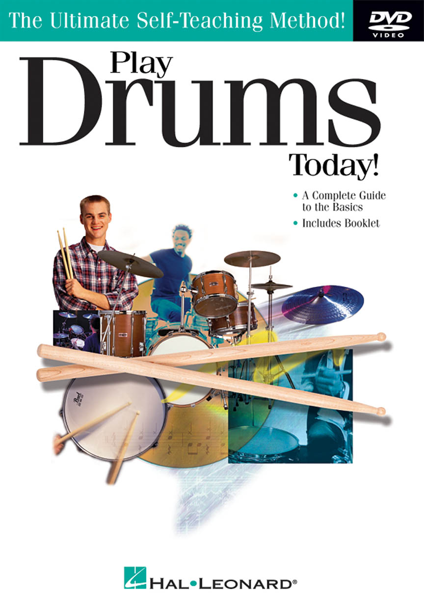 Product Cover for Play Drums Today! DVD
