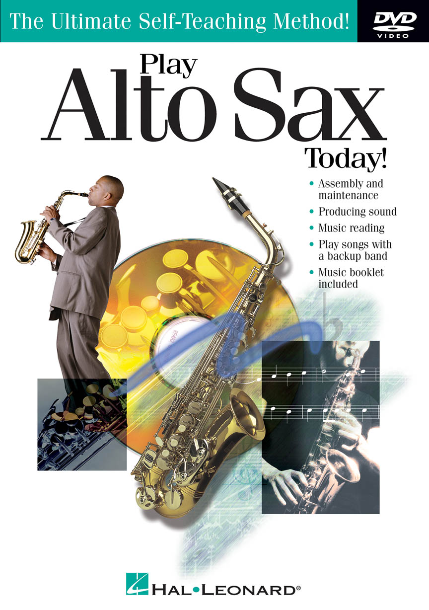 Product Cover for Play Alto Sax Today! DVD