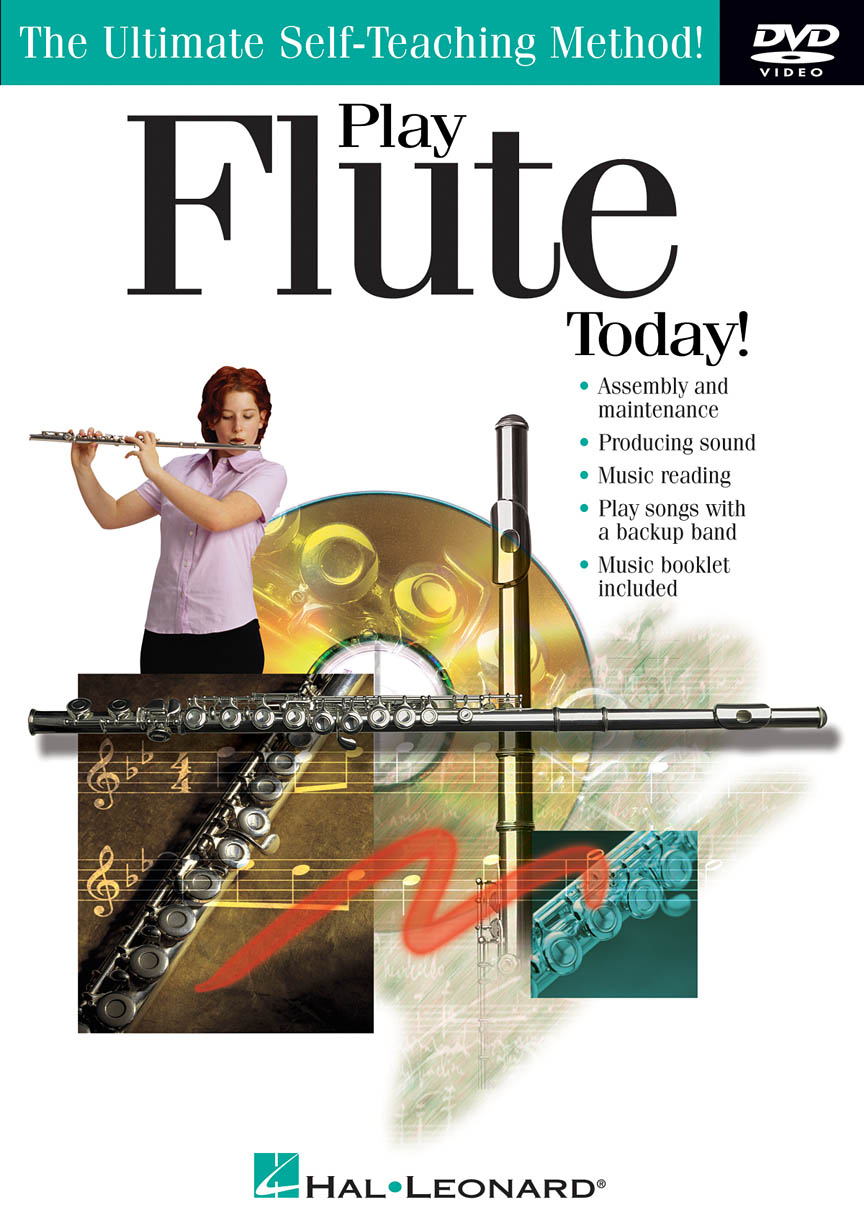Product Cover for Play Flute Today! DVD