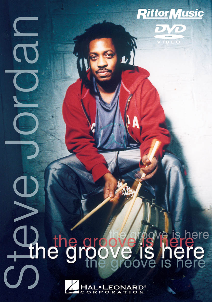Product Cover for Steve Jordan – The Groove Is Here