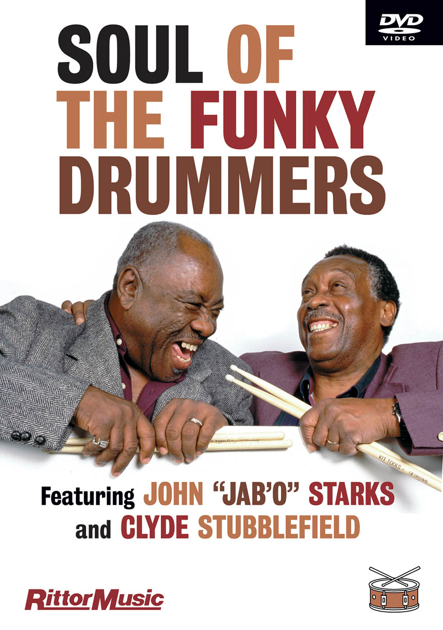 """Product Cover for Clyde Stubblefield & John """"Jab'o"""" Starks – Soul of the Funky Drummers"""