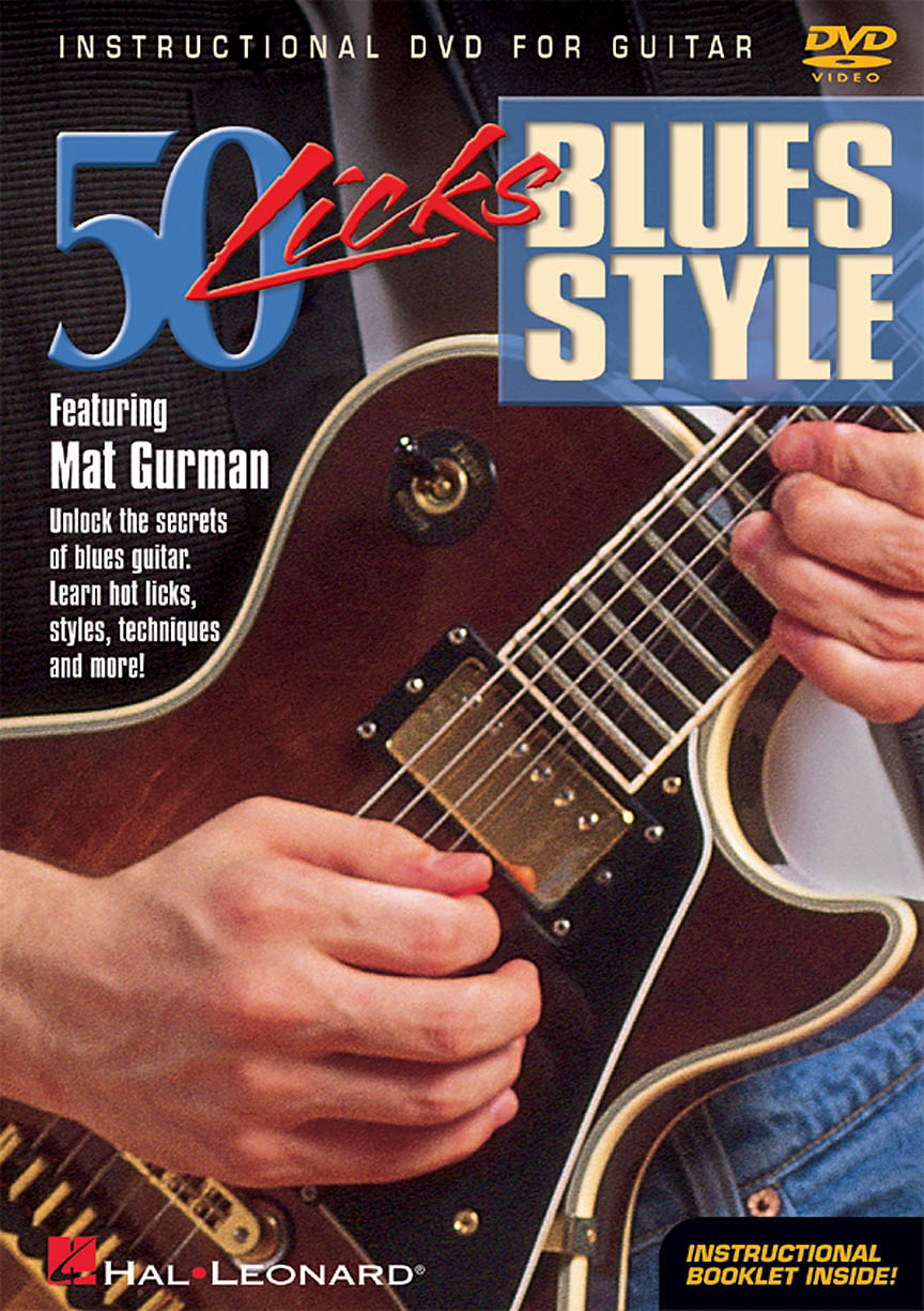 Product Cover for 50 Licks Blues Style