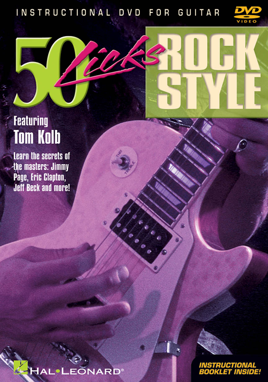 Product Cover for 50 Licks Rock Style
