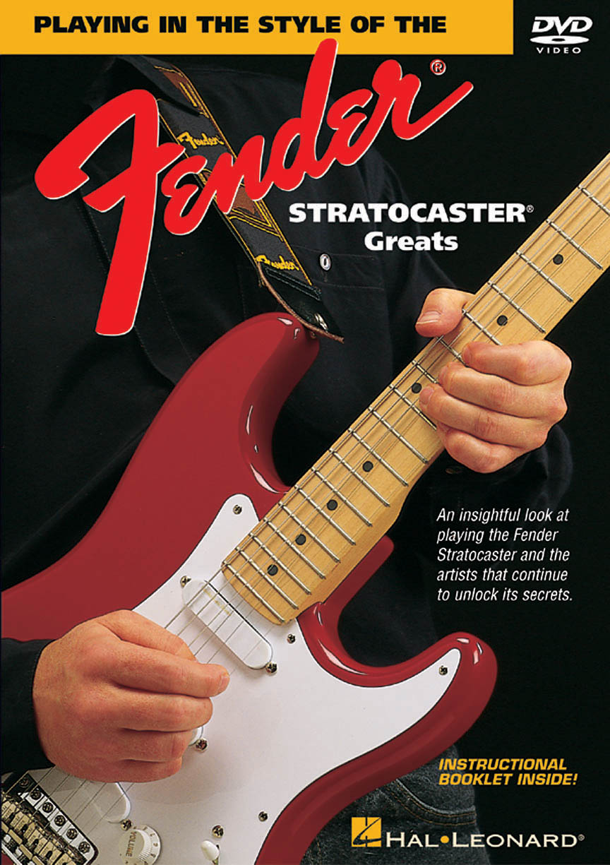 Product Cover for Playing in the Style of the Fender® Stratocaster Greats