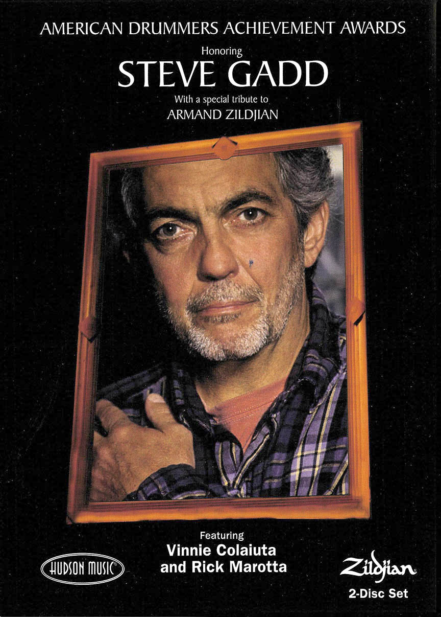 Product Cover for Steve Gadd – American Drummers Achievement Awards