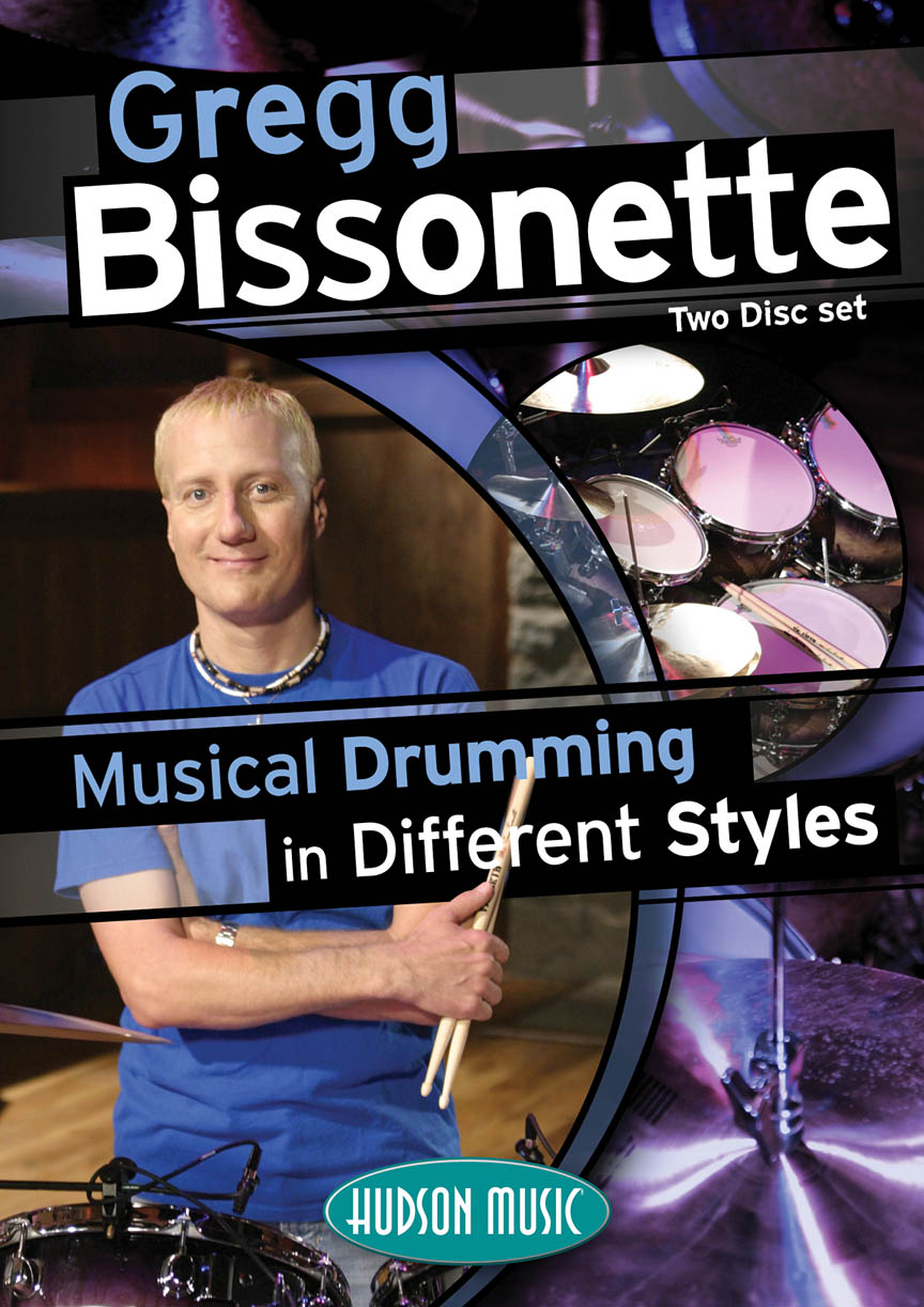 Product Cover for Gregg Bissonette – Musical Drumming in Different Styles