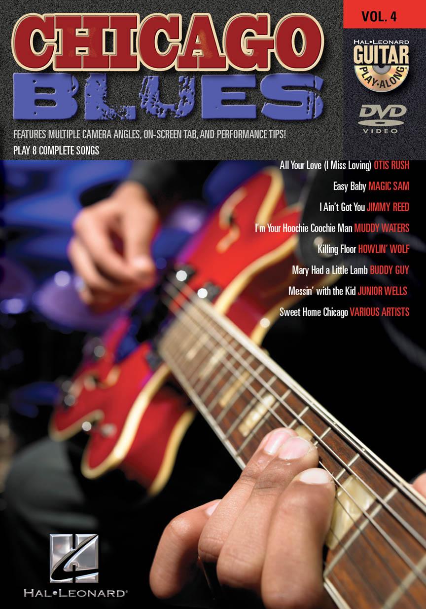 Chicago Blues - Guitar Play-Along DVD Volume 4 | Hal Leonard