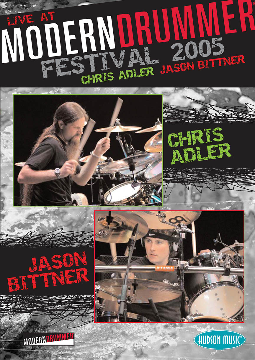 Product Cover for Chris Adler & Jason Bittner – Live at Modern Drummer Festival 2005
