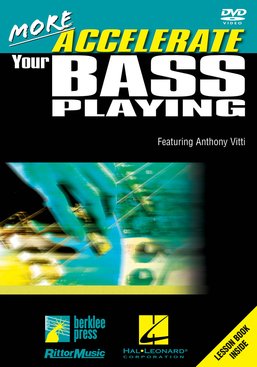 Product Cover for More Accelerate Your Bass Playing